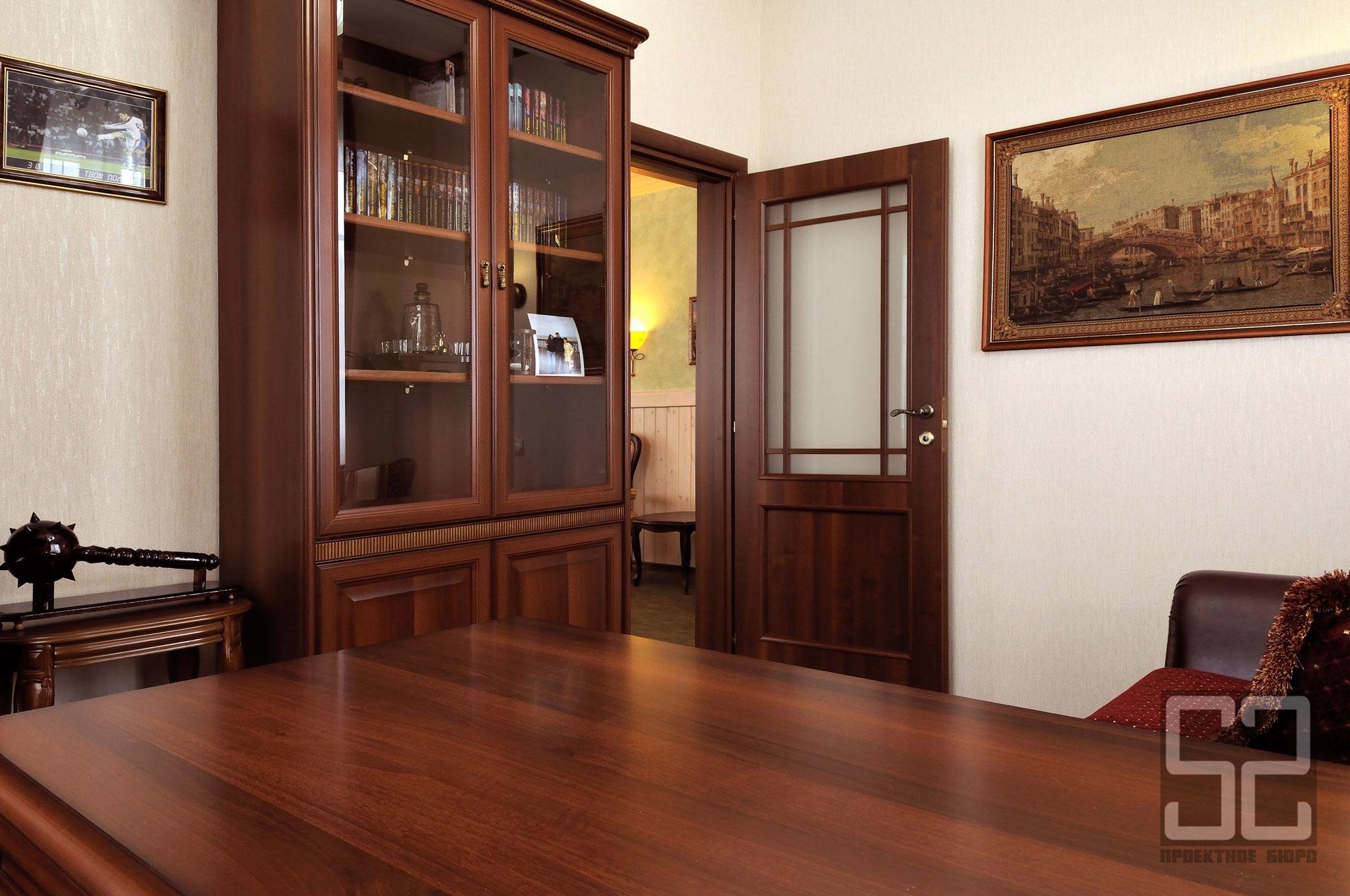 дизайн интерьера кабинет