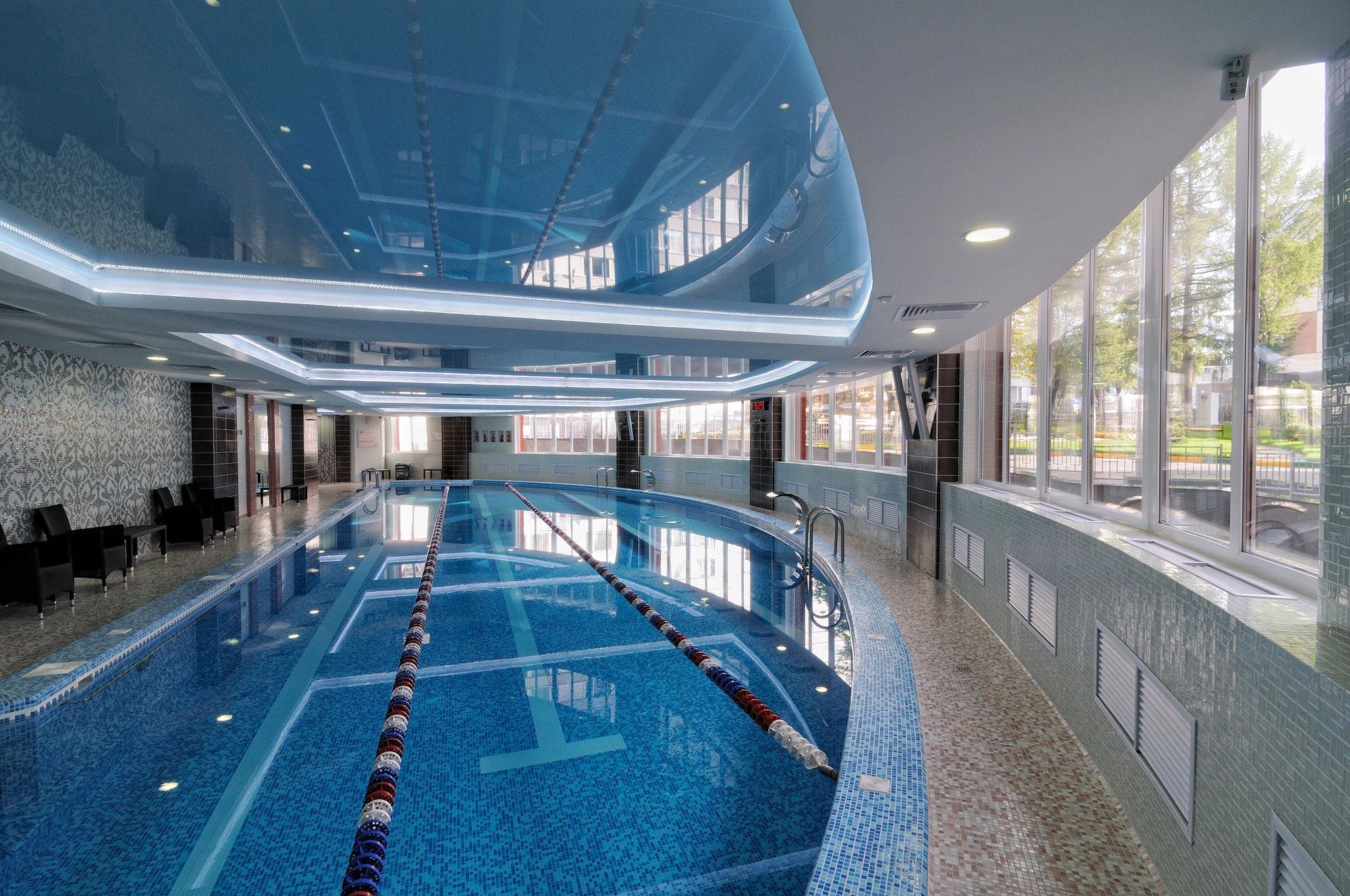 дизайн интерьера бассейн фото