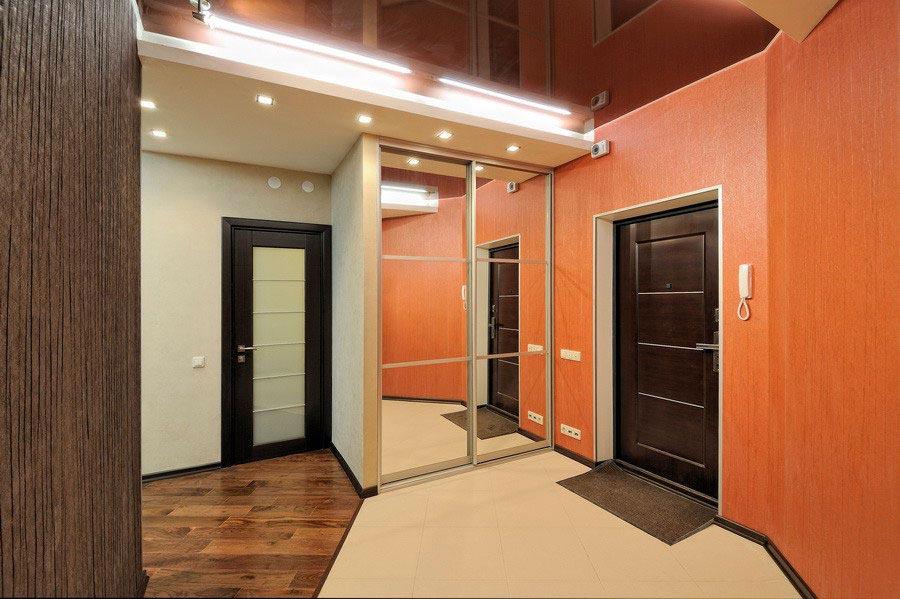 дизайн интерьера квартиры прихожая фото