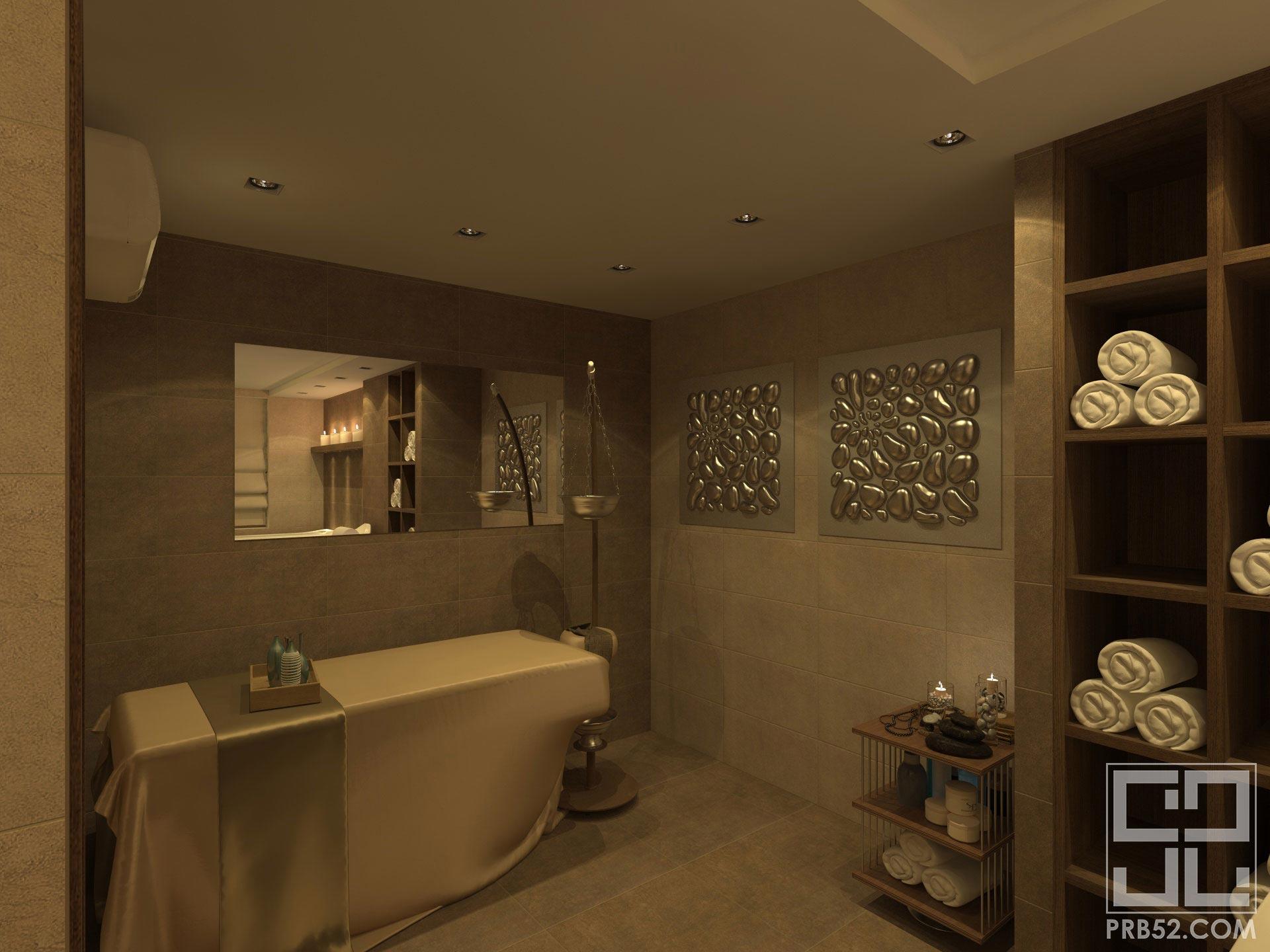 дизайн интерьера салона красоты spa зона