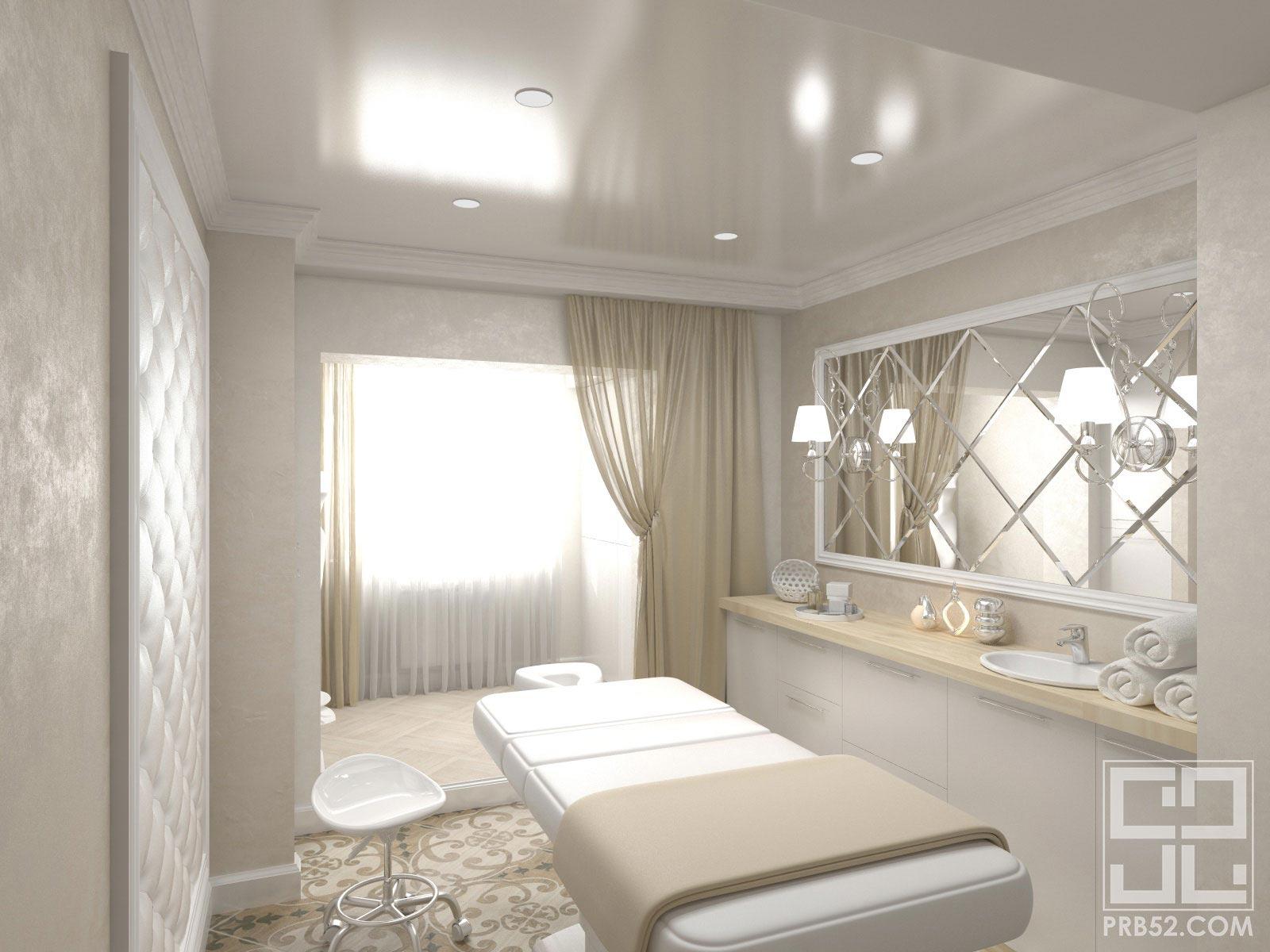 дизайн интерьера салона красоты косметолог