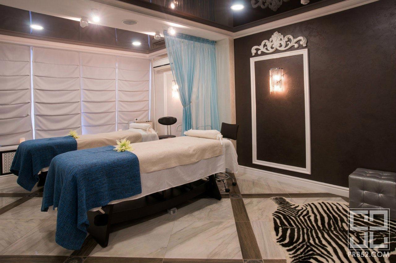 дизайн интерьера салона красоты массажного кабинета фото iren