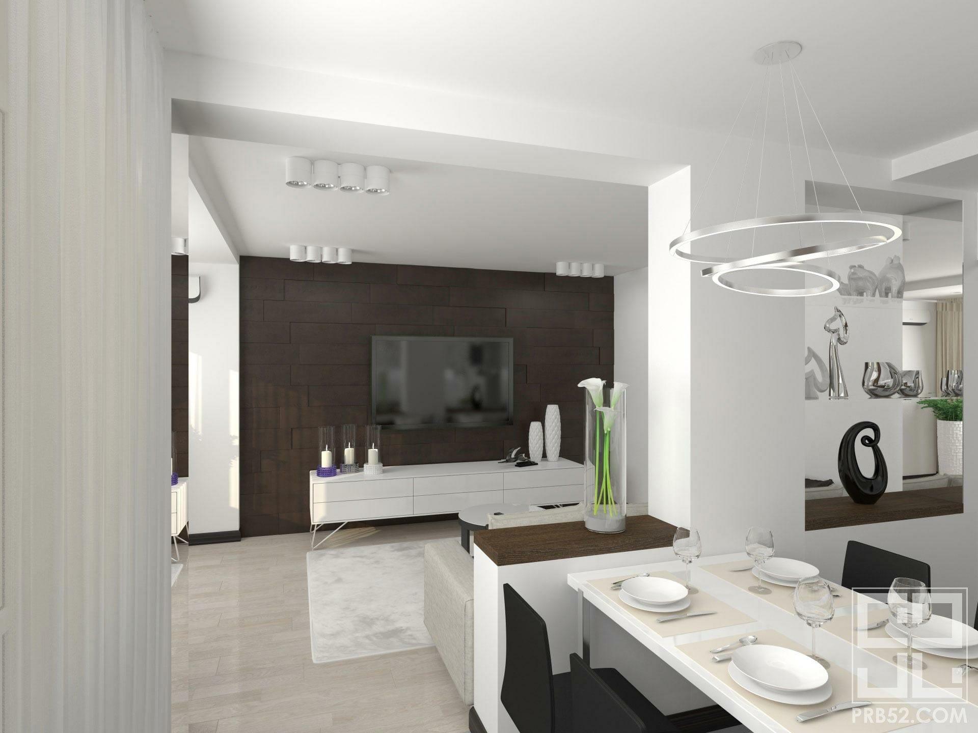 дизайн интерьера гостиная кухня