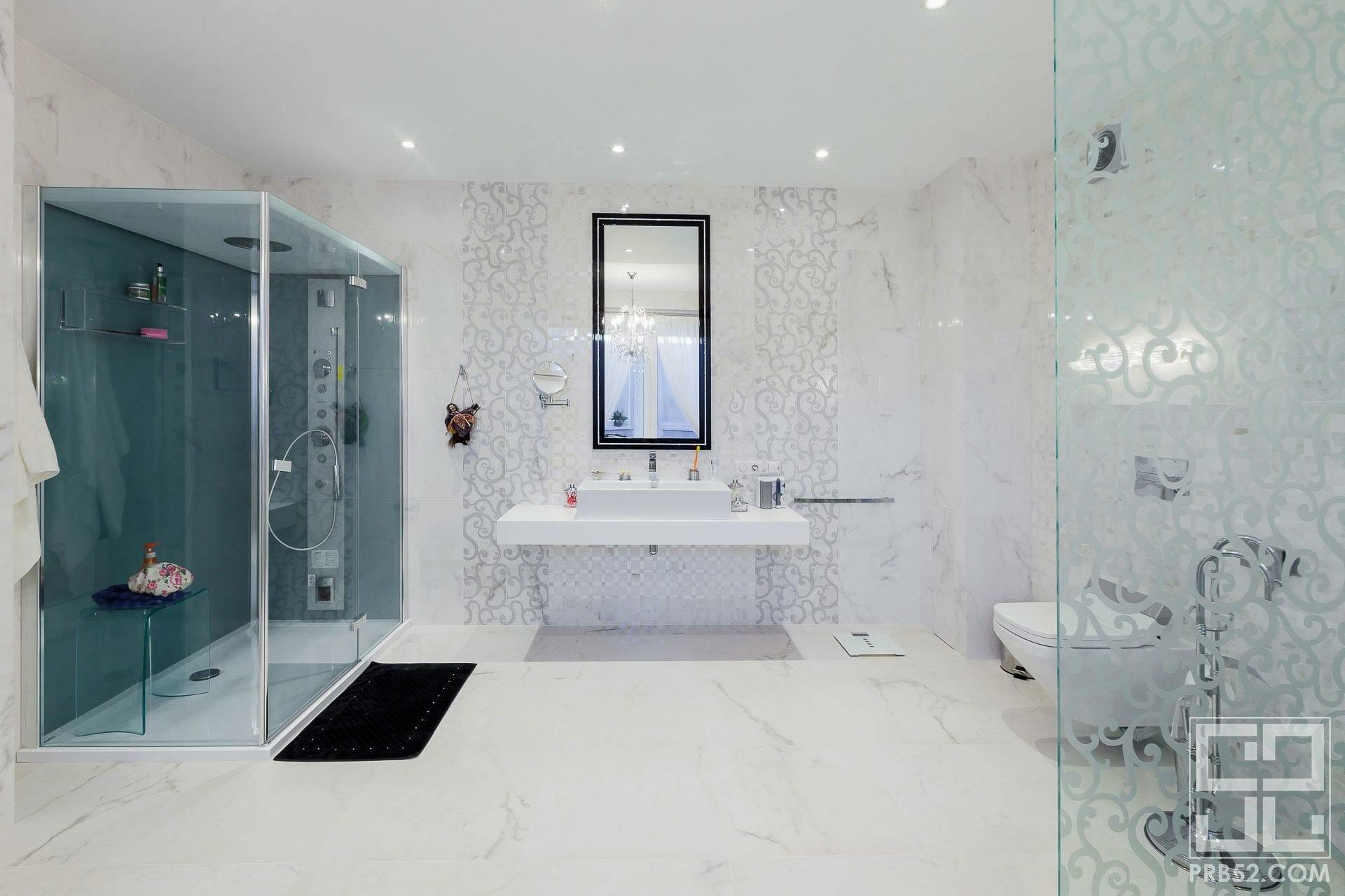 дизайн интерьера ванной комнаты фото