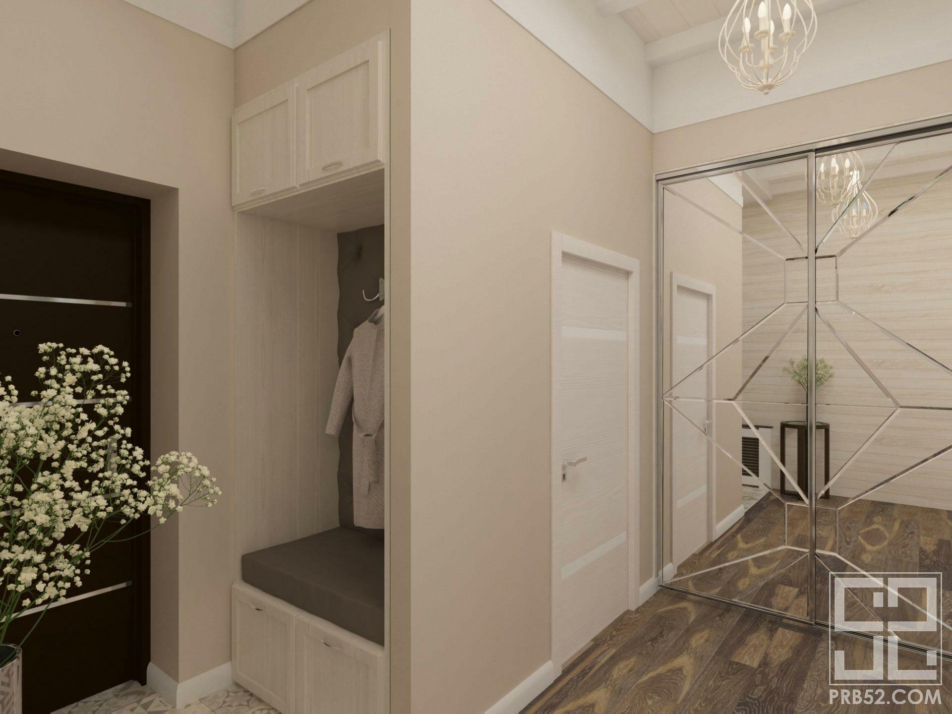 дизайн интерьера прихожей в частном доме