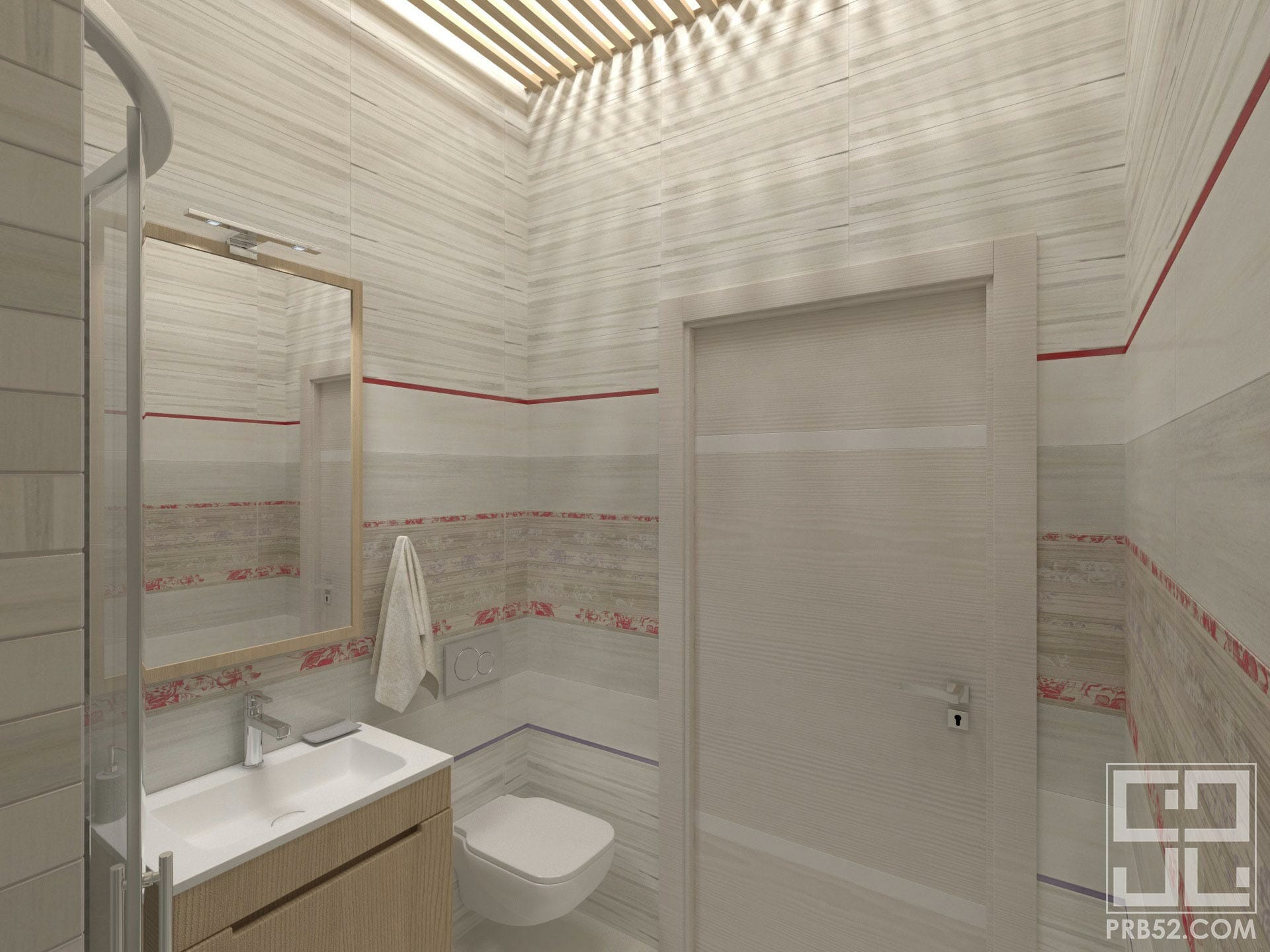 дизайн интерьера ванной в частном доме