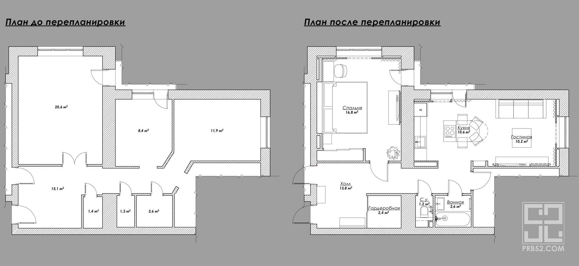 дизайн интерьера перепланировка и расстановка мебели