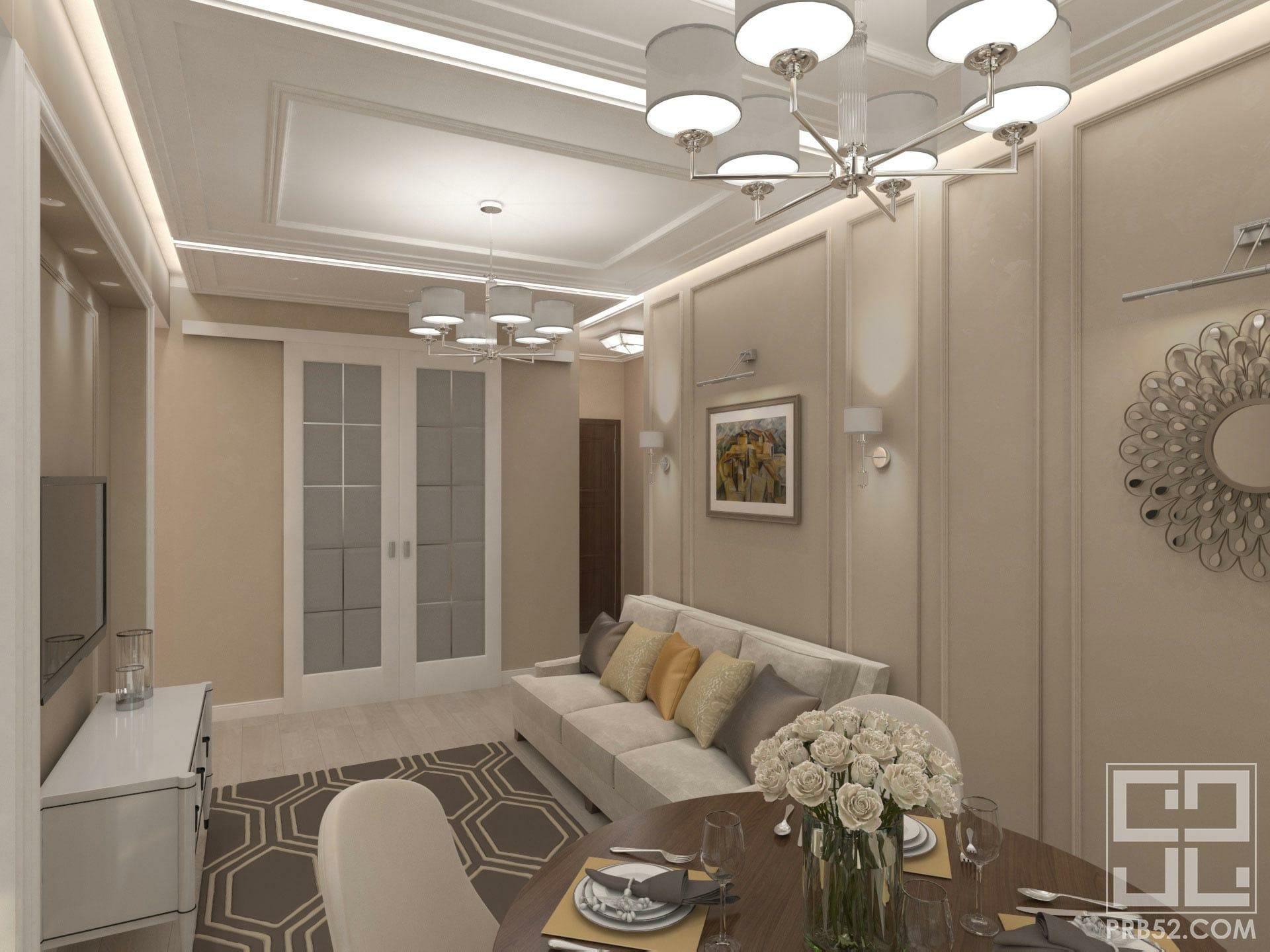 дизайн интерьер гостиной