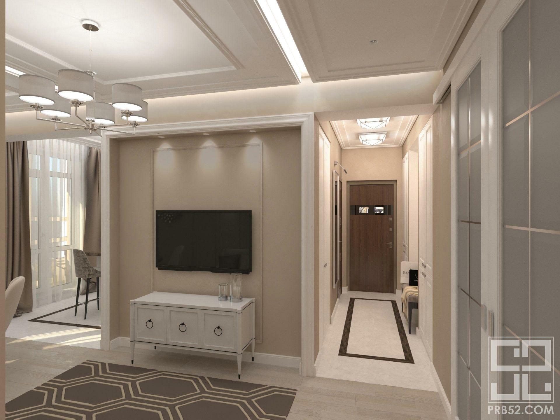 дизайн интерьер гостиной современная классика