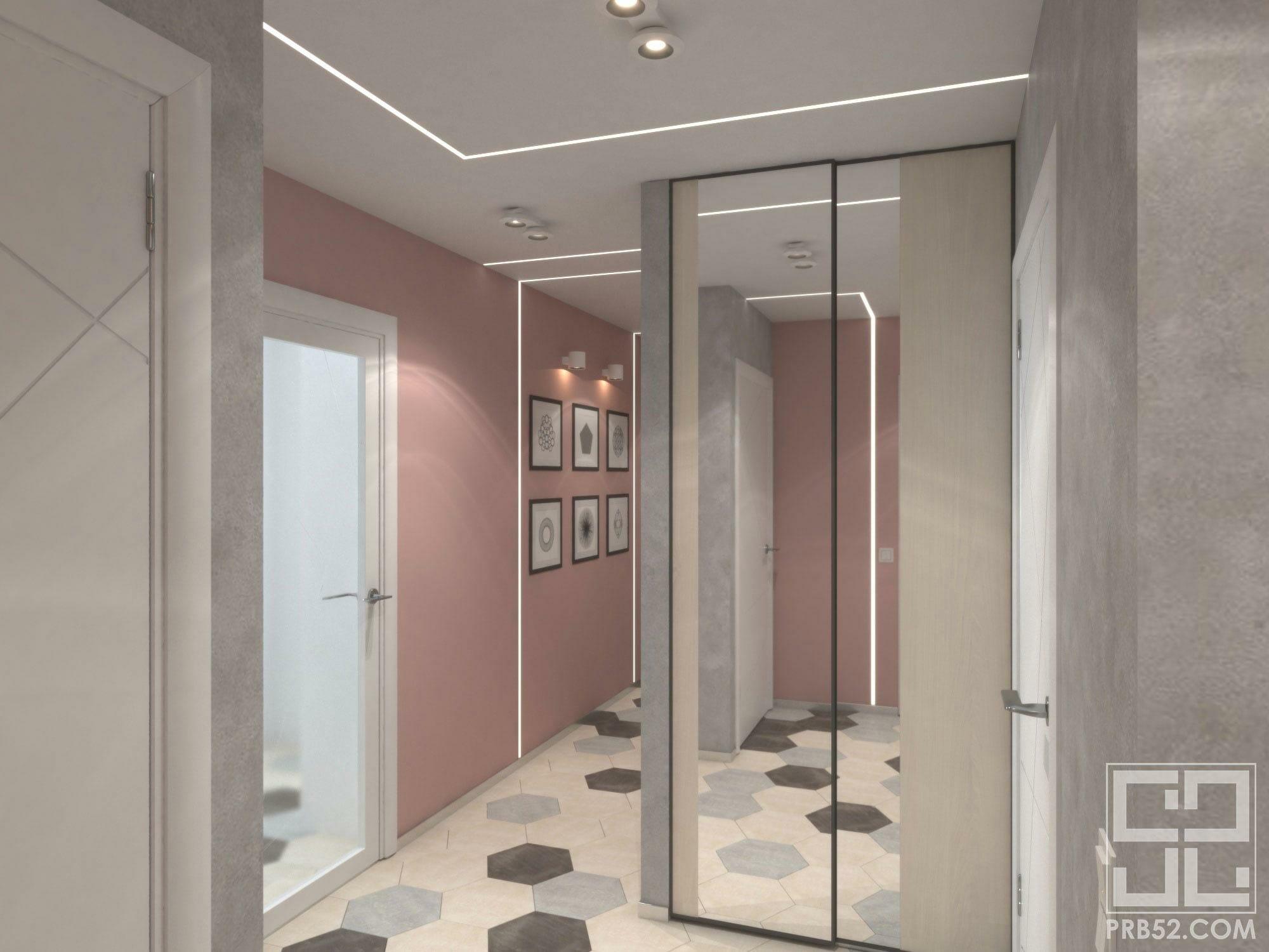дизайн интерьера коридора идеи и решения