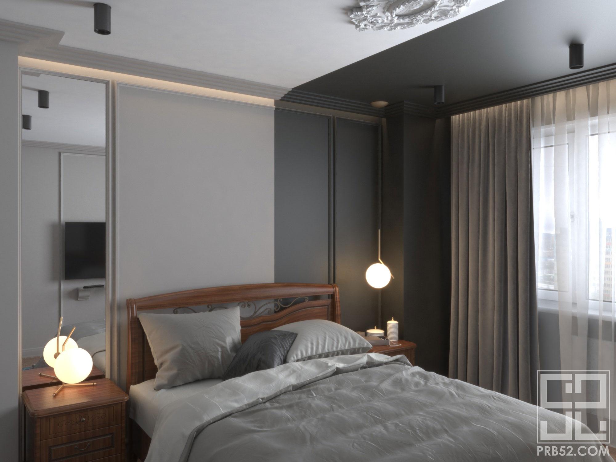 дизайн спальни современная классика