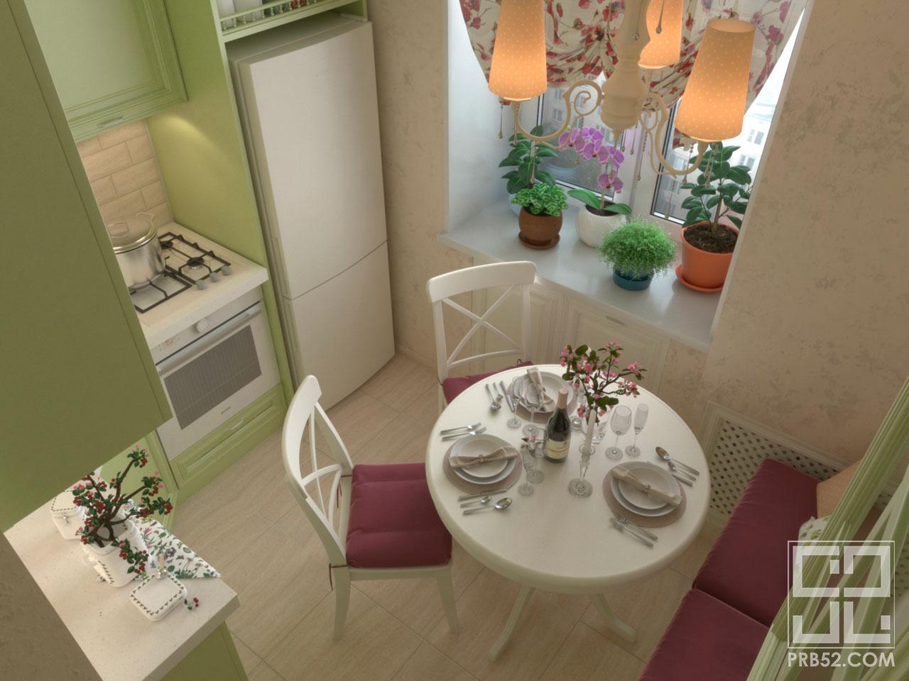 дизайн кухни кв