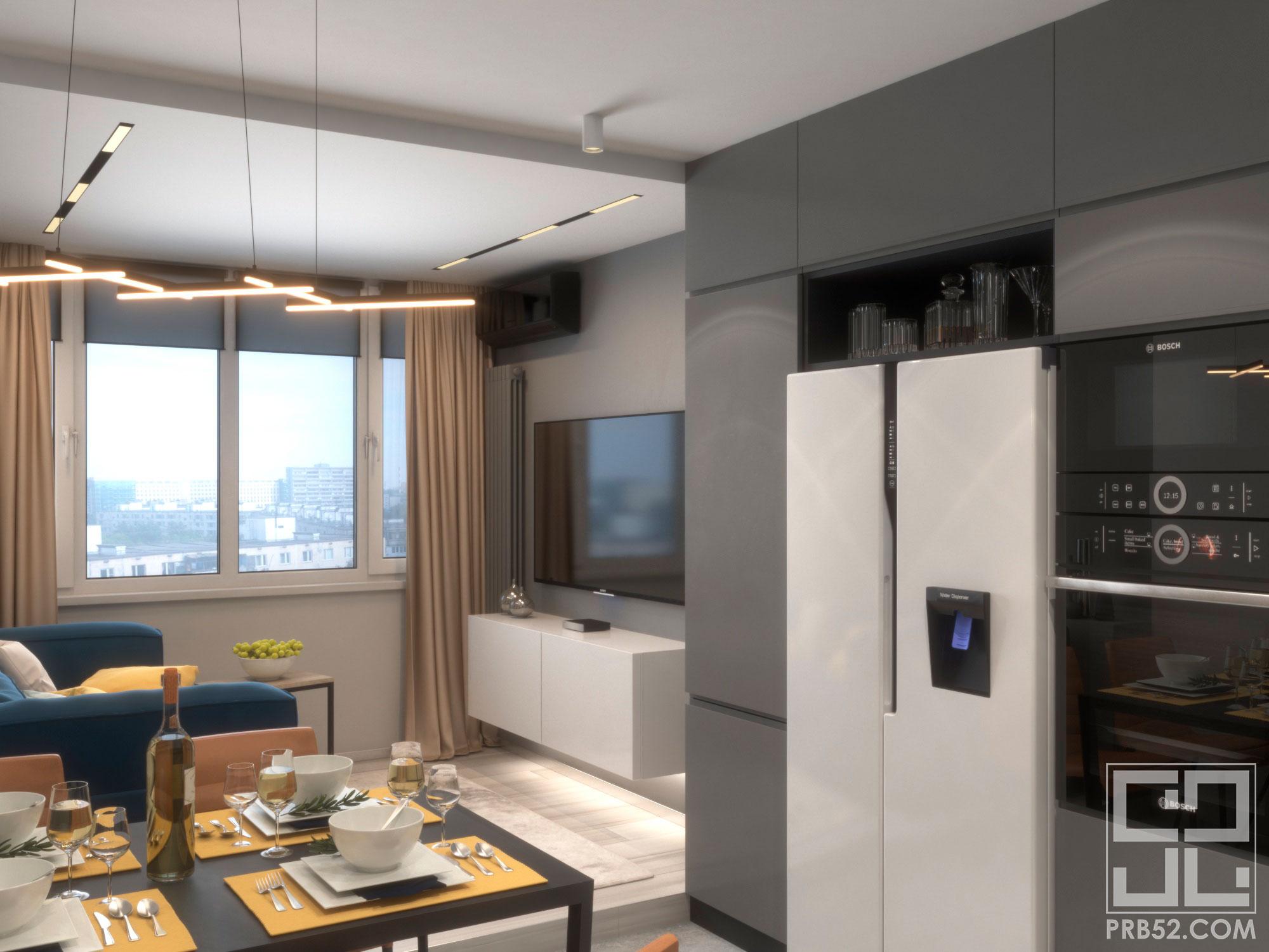 кухня дизайн интерьер в квартире